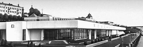 Ярославль. Речной вокзал. 1976. Архитектор Т. П. Садовский.