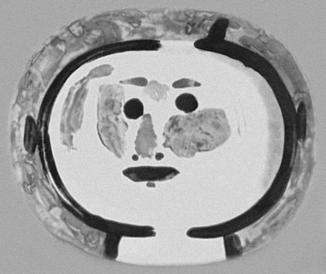 П. Пикассо (Франция). Блюдо. Майолика. 1962.