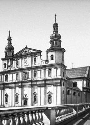 Польша. К. Мерошевский. Костёл бернардинцев на Страдоме в Кракове. 1670—80.
