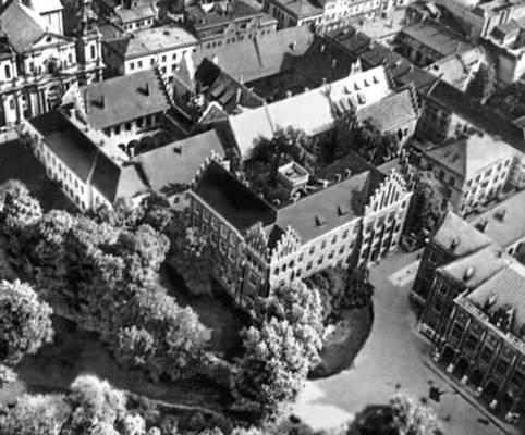Ансамбль зданий Ягелланского университета в Кракове.