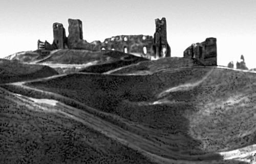 Архитектура 13 — начала 20 вв. Руины замка в Раквере. 13—15 вв