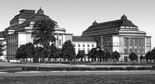 Архитектура 13 — начала 20 вв. А. Линдгрен, В. Лённ. Театр «Эстония». 1913. Таллин.