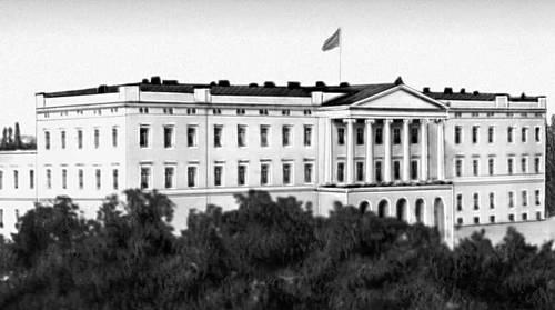 Осло. Королевский дворец. 1824—48. Архитектор Х. Д. Ф. Линстов.