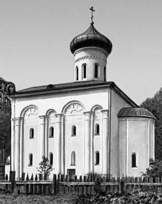 Полоцк. Собор (до 1159, зодчий Иоанн) Спасо-Ефросиниевского монастыря.