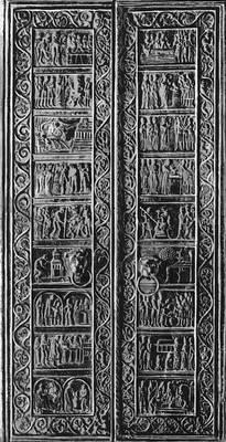 «Гнезненские двери». Бронза. Ок. 1170.