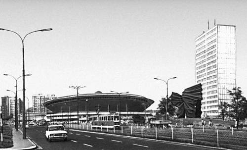 Новый центр г. Катовице. Архитекторы И. Ярецкий, З. Кносала, М. Крулидр. 2-я половина 1960-х гг.