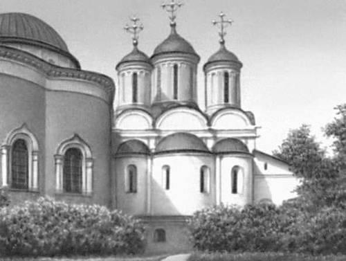 Ярославль. Спасо-Преображенский собор (1506—16, перестраивался).