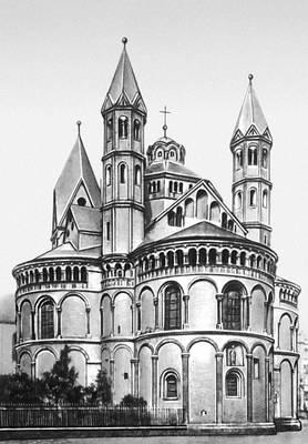 Кёльн. Церковь Апостелькирхе. Около 1192—1219.