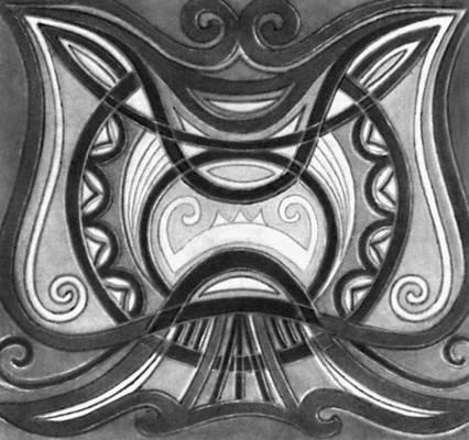 М. Куке. Книга для гостей «Бабочка». Тиснение по коже, гравировка. 1970.