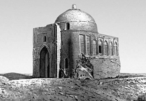 Меана-баба. Мавзолей Абу-Саида Мейхенейского в селении Миана. 11 в. Роспись и облицовка 14 в.