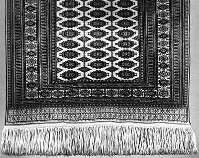 Туркменская ССР. Ковёр ворсовый с традиционным рисунком. 1946.