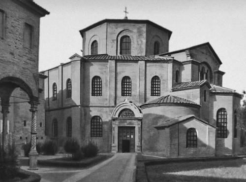 Византия. Церковь Сан-Витале в Равенне. 526—547.