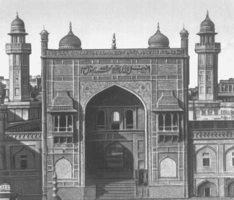 Мечеть Везир Хана в Лахоре. 1634.
