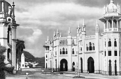 Железнодорожный вокзал в Куала-Лумпуре.