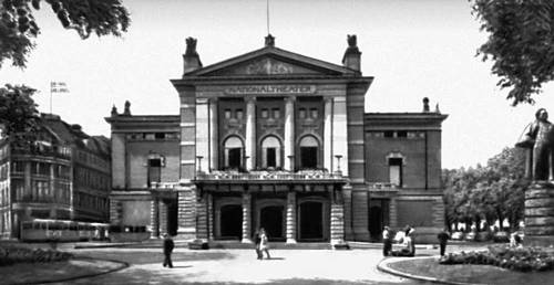 Осло. Национальный театр. 1891—1899. Архитектор Х. Булль.