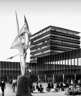 Осло. Новый университетский комплекс в районе Блиннерн. 1960-е гг. Архитекторы Ф. Риннан и др.