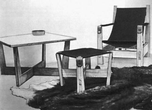 Э. Вэльбри. Мебель. 1960-е гг.