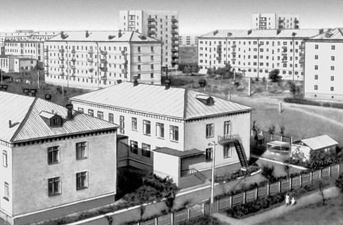 Оренбургская область. Гай. Вид части города.