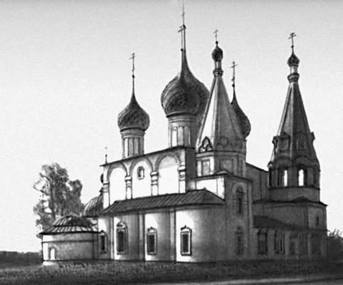 Ярославль. Церковь Спаса на Городу. 1672.
