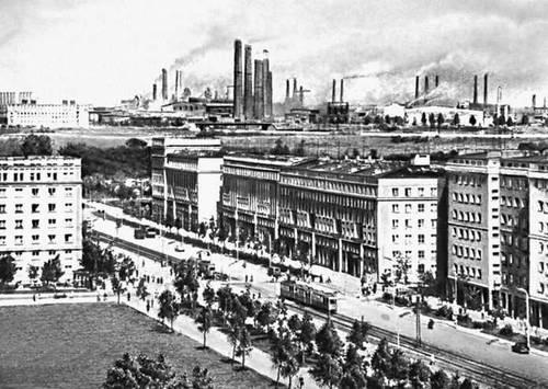 Нова-Хута (Краков), металлургический завод им. В. И. Ленина.