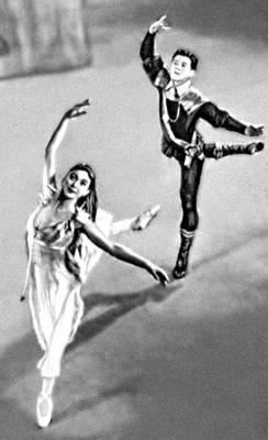 Сцена из балета «Ундина» X. Хенце. Балетм. Ф. Аштон. Лондон. 1958.