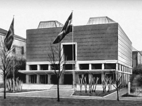 Осло. Дом художников. 1930. Архитекторы Г. Блакстадт и Х. Мунте-Кос.
