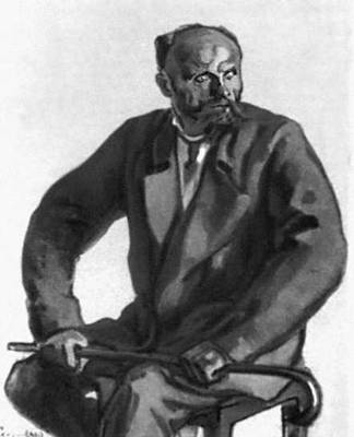 Н. Трийк. Портрет А. Лайкмаа. 1913. Художественный музей Эстонской ССР. Таллин.