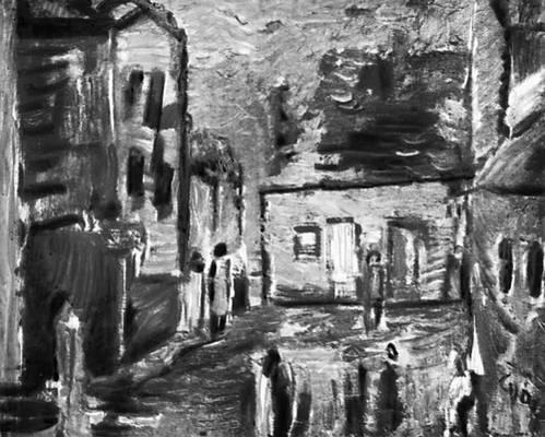 Я. Цибис. «Старый Сонч». 1959—60. Национальный музей. Познань.
