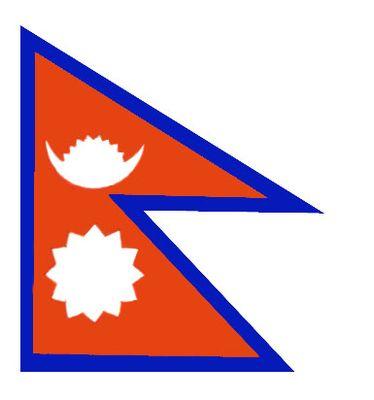 Флаг государственный. Непал.