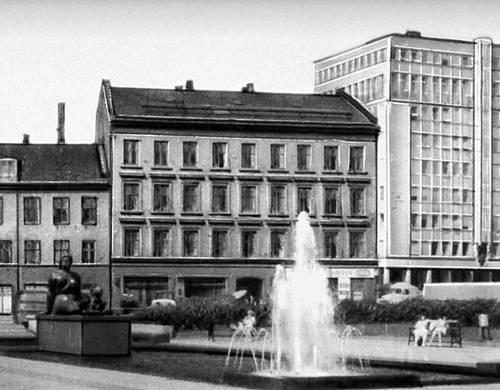 Осло. Набережная близ ратуши.