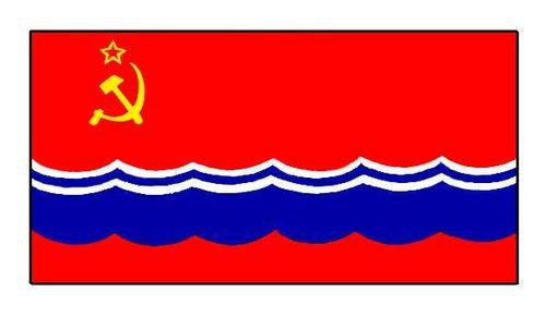 Флаг государственный. Эстонская ССР.