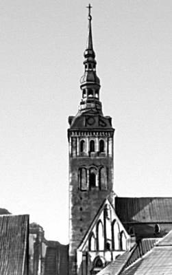 Архитектура 13 — начала 20 вв. Церковь Нигулисте. Основное строительство — 15 в.