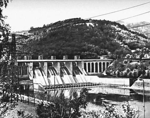 Гидроэлектростанция на р. Сола, в Краковском воеводстве.