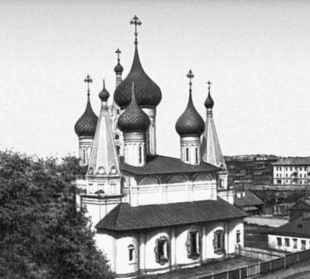 Ярославль. Церковь Николы Мокрого. 1665—72.