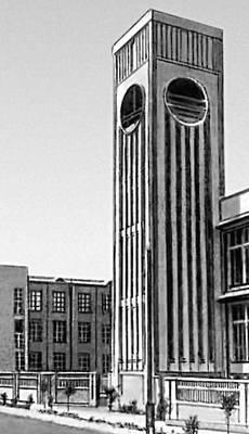 В. М. Келдыш и др. Текстильная фабрика. 1927. Ашхабад.