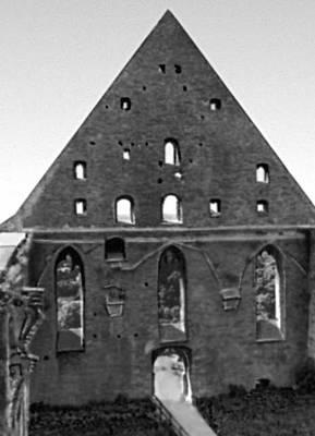 Архитектура 13 — начала 20 вв. Руины церкви монастыря св. Бригитты (Пирита). 15 в.