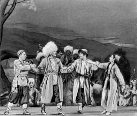 «Алдар-Косе». Сцена из балета.