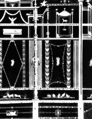 Помпеи. Образец росписи «3-го помпеянского стиля». 1 в. н. э.
