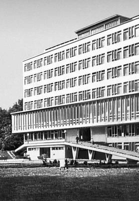 Польша. С. Ющик. Высшая сельскохозяйственная школа в Кракове. 1963.