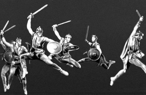 Сцена из спектакля Большого театра СССР «Спартак» А. И. Хачатуряна. Балетм. Ю. Н. Григорович. 1968.