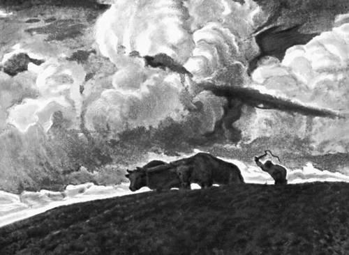 Ф. Рушиц. «Земля». 1898. Национальный музей. Варшава.