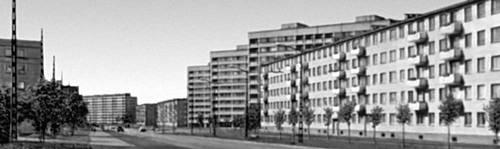 Архитектура Советской Эстонии. М. Порт, В. Типпель, Т. Каллас, Л. Шеттай и др. Улица Вильде в жилом районе Мустамяэ. Застраивается с 1961. Таллин.