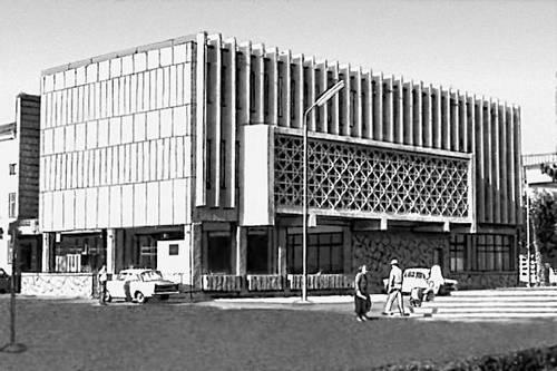 В. Н. Высотин. Здание «Туркменинформ». 1970. Ашхабад.