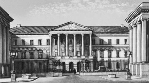 Государственная комиссия приходов и казны. 1824—25. Архитектор А. Корацци.