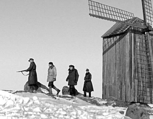 Кадр из фильма «Ледоход». Реж. К. К. Кийск. 1962.