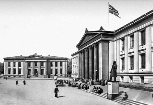 Осло. Университет. 1838—52. Архитектор К. Х. Грош.