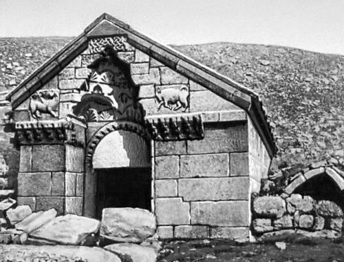 Селимский караван-сарай вблизи с. Ахкенд Армянской ССР. 1332.