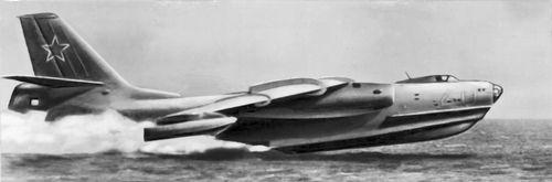 Рис.3. Советский противолодочный самолет.