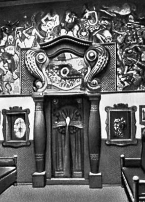 Польша. К. Фрыч. Кондитерская Михалика в Кракове. 1911.
