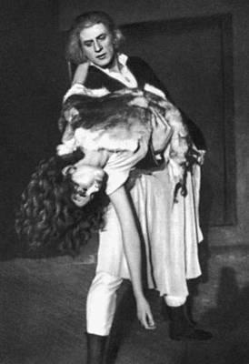 Сцена из балета «Тийна» Л. М. Аустер. Театр «Ванемуйне». 1958.